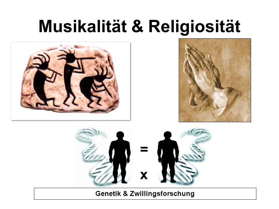 Musikalität & Religiosität