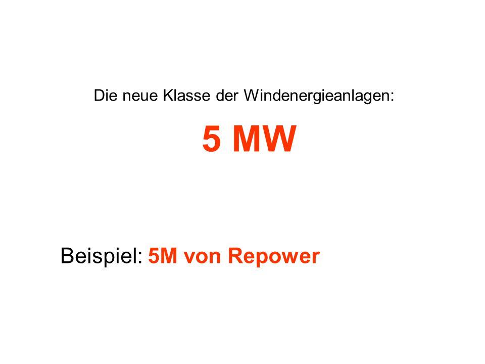 Die neue Klasse der Windenergieanlagen: