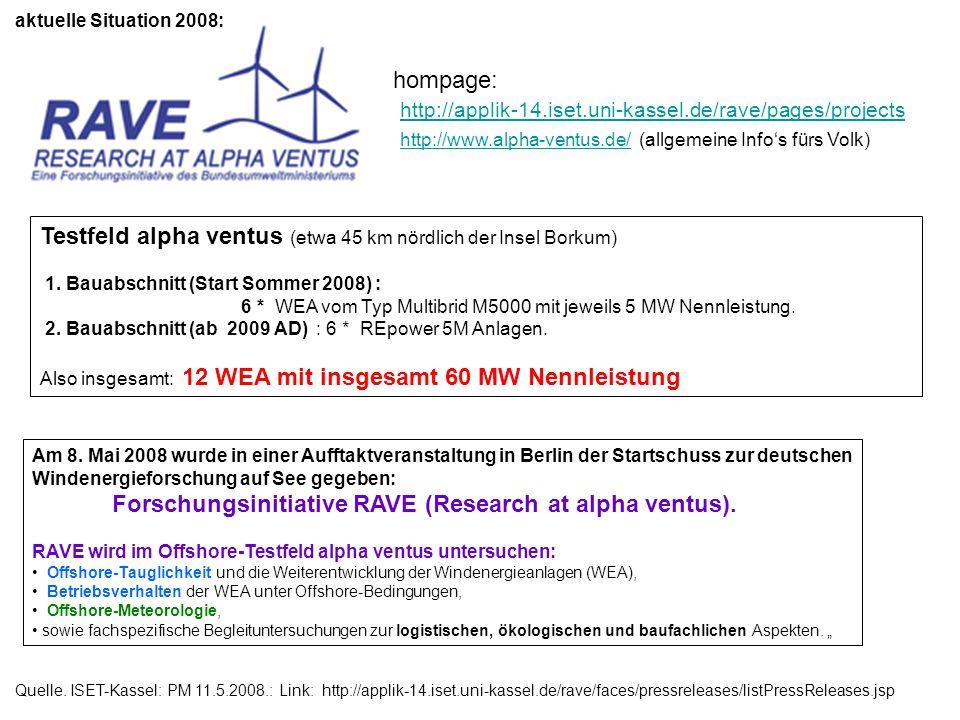 http://www.alpha-ventus.de/ (allgemeine Info's fürs Volk)