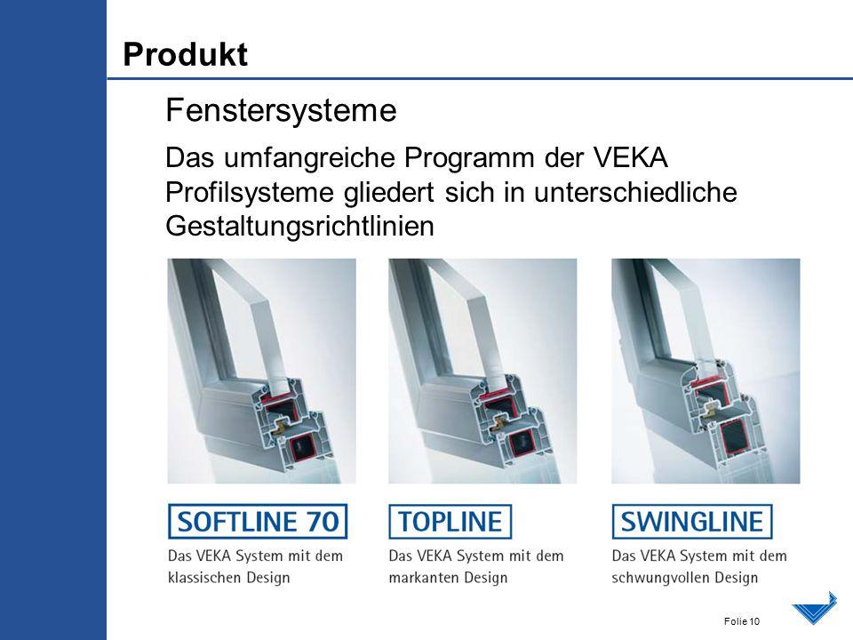 Produkt Fenstersysteme