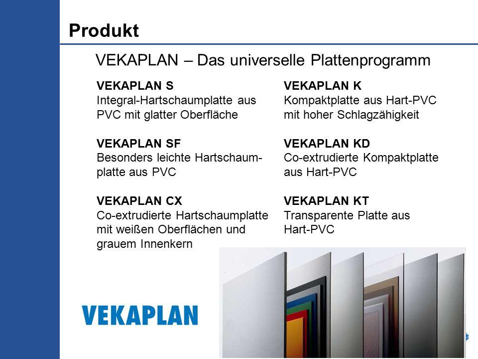 Produkt VEKAPLAN – Das universelle Plattenprogramm