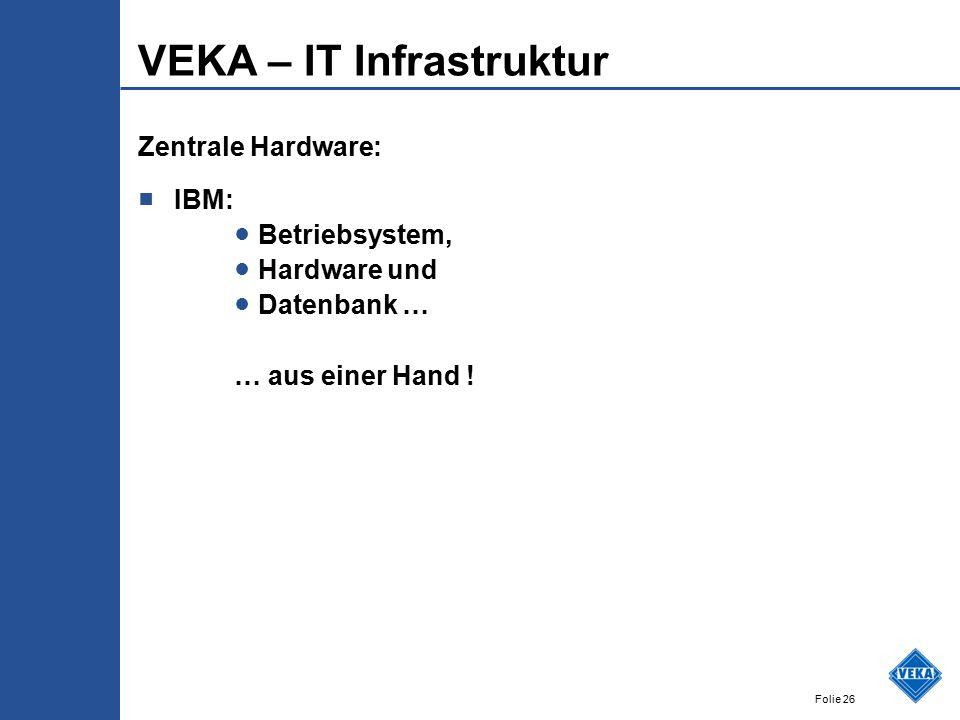 VEKA – IT Infrastruktur