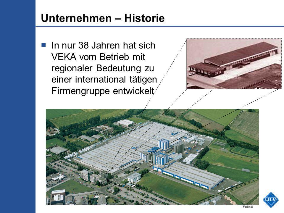 Unternehmen – Historie