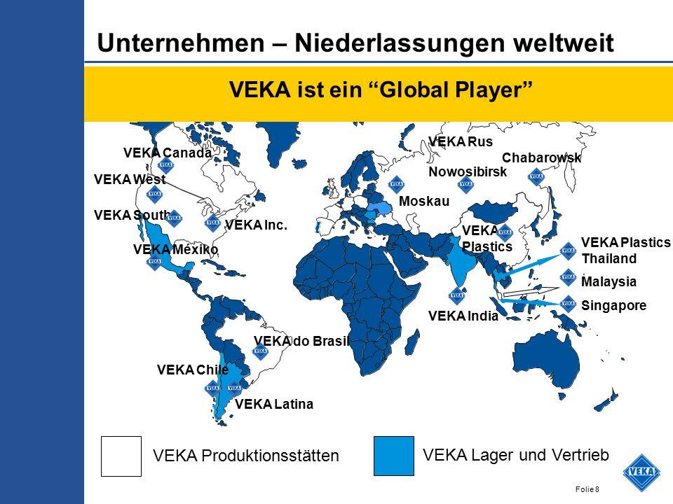 VEKA ist ein Global Player