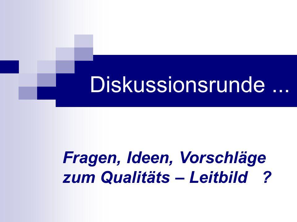 Diskussionsrunde ... Hans-Anton wird Fragen, Ideen, Kritiken, Vorschläge aus dem Plenum sammeln und auf Pin-Wände gruppieren.