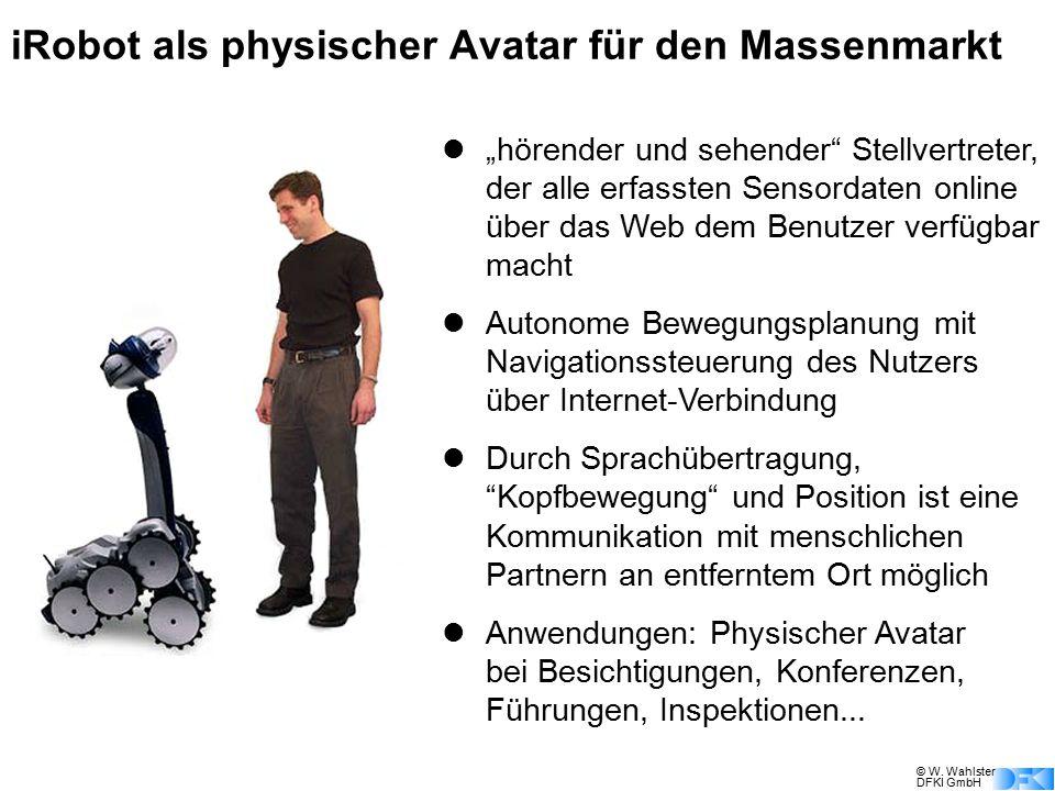 iRobot als physischer Avatar für den Massenmarkt