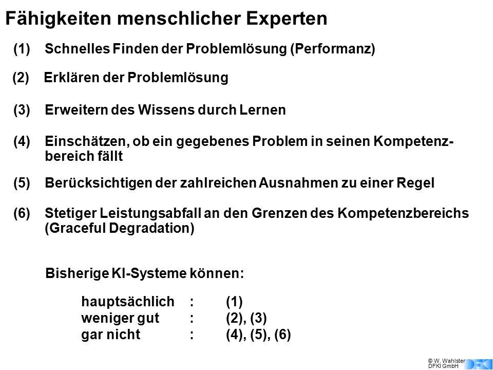 Fähigkeiten menschlicher Experten