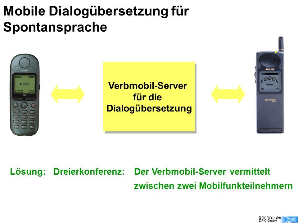 Mobile Dialogübersetzung für Spontansprache