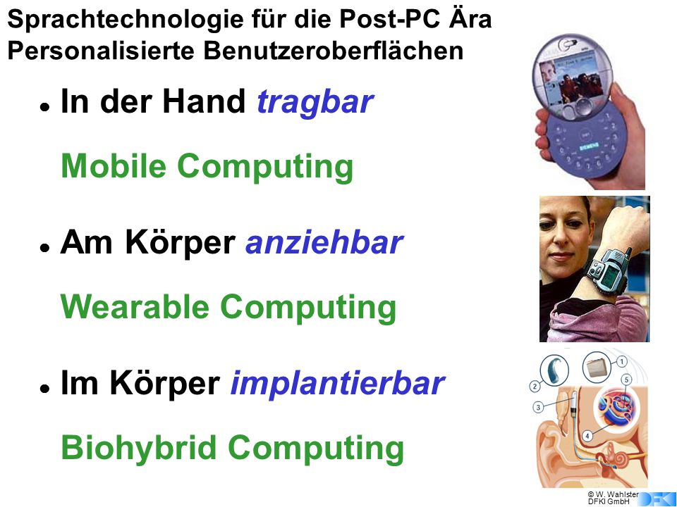 Mobile Computing Wearable Computing Biohybrid Computing