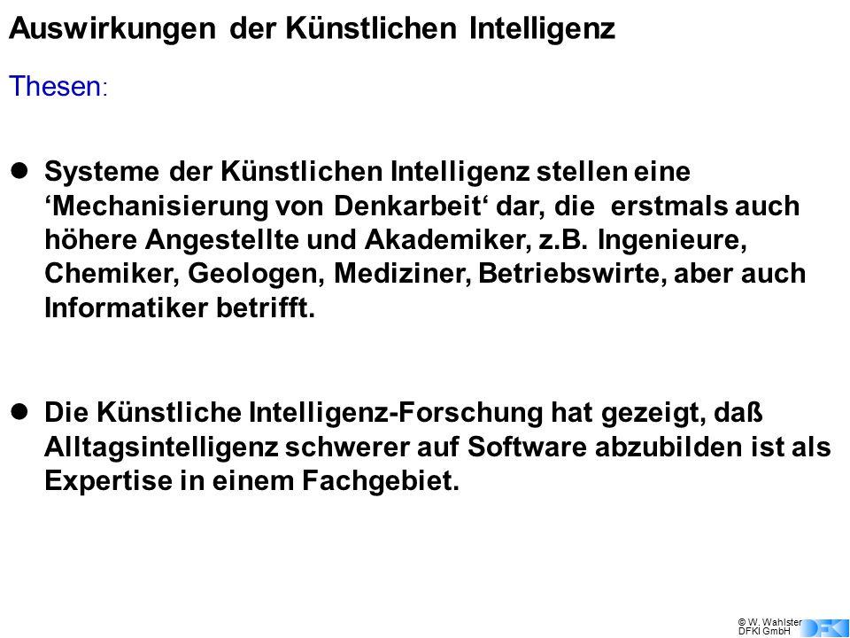 Auswirkungen der Künstlichen Intelligenz