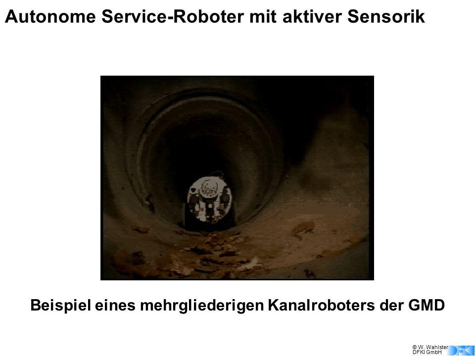 Autonome Service-Roboter mit aktiver Sensorik