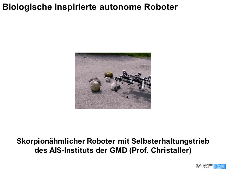 Biologische inspirierte autonome Roboter