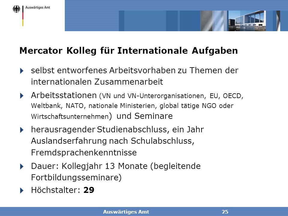 Mercator Kolleg für Internationale Aufgaben