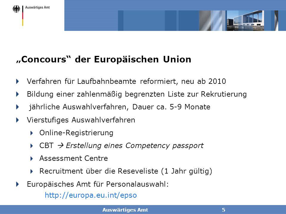 """""""Concours der Europäischen Union"""