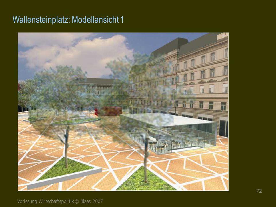 Wallensteinplatz: Modellansicht 1