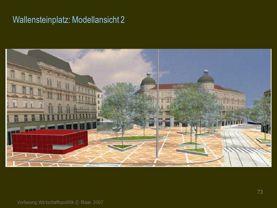 Wallensteinplatz: Modellansicht 2