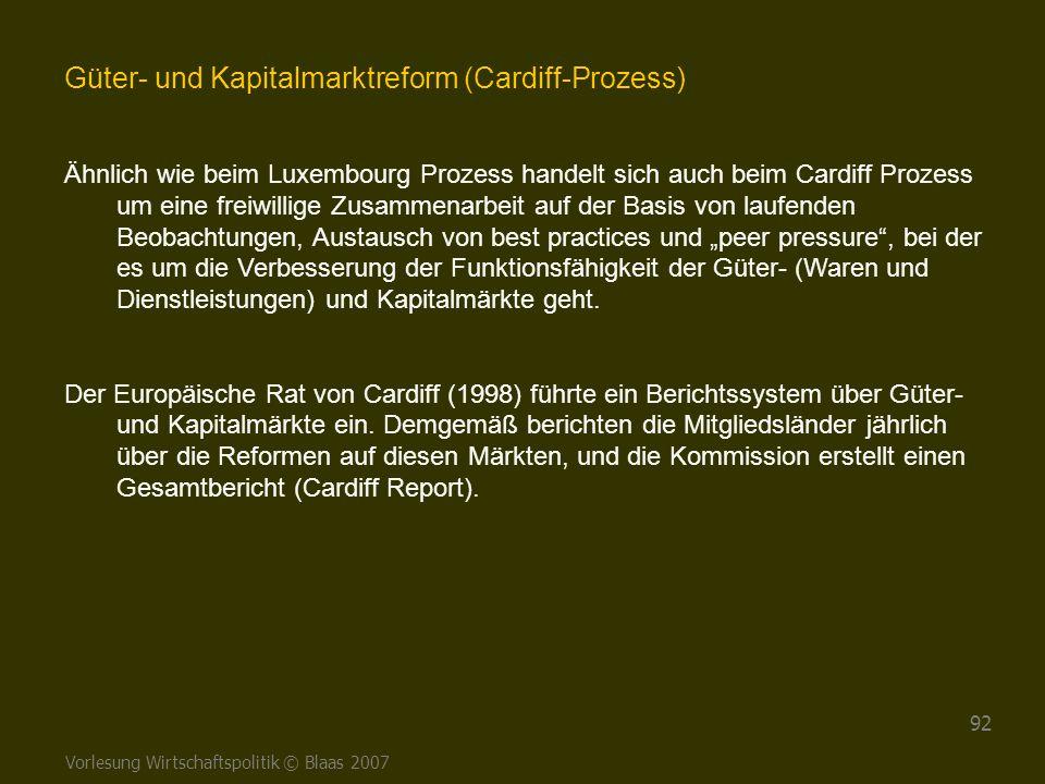 Güter- und Kapitalmarktreform (Cardiff-Prozess)