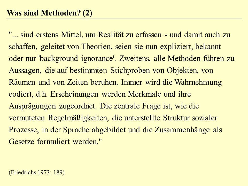 Was sind Methoden (2)
