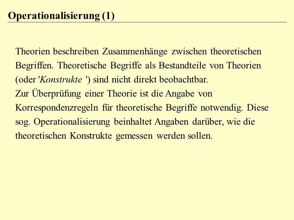 Operationalisierung (1)