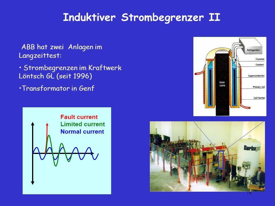 Induktiver Strombegrenzer II