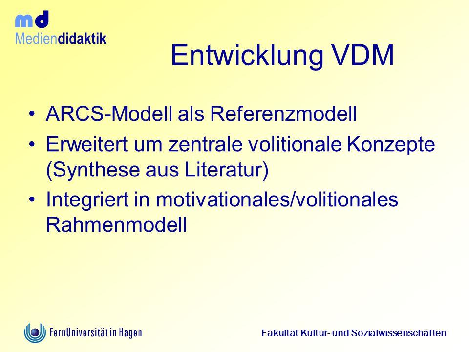 Entwicklung VDM ARCS-Modell als Referenzmodell