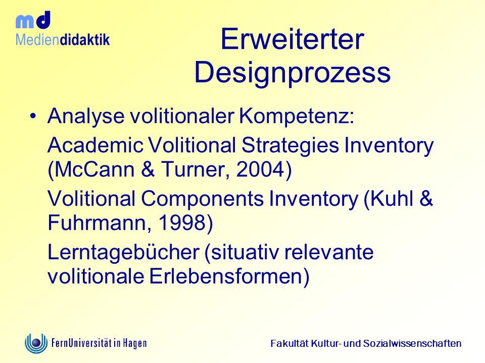 Erweiterter Designprozess