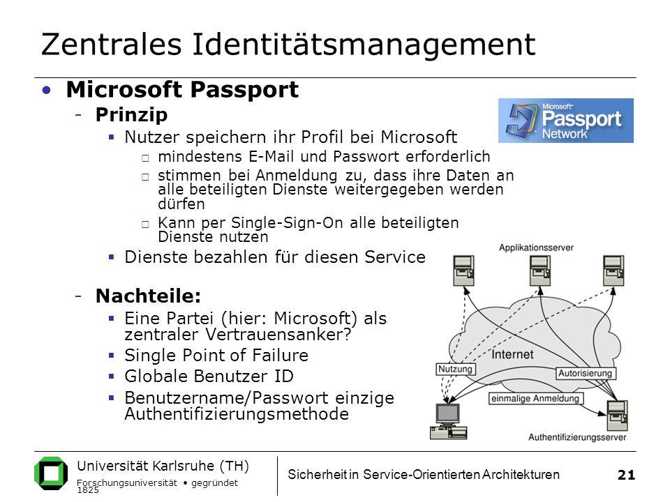 Zentrales Identitätsmanagement