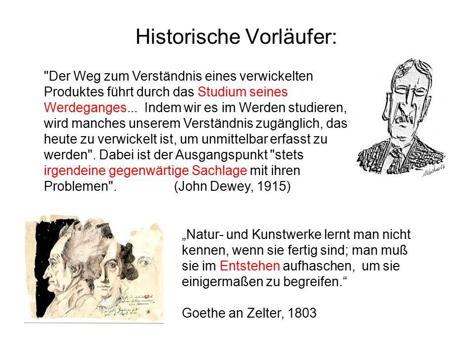 Historische Vorläufer: