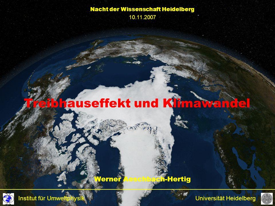Treibhauseffekt und Klimawandel
