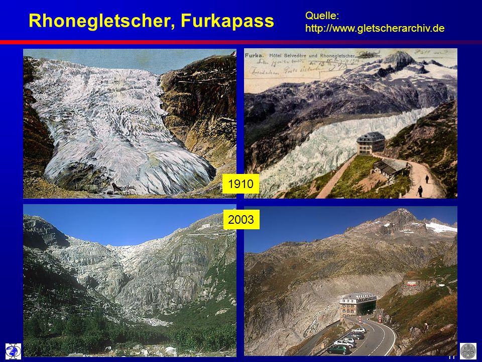 Rhonegletscher, Furkapass