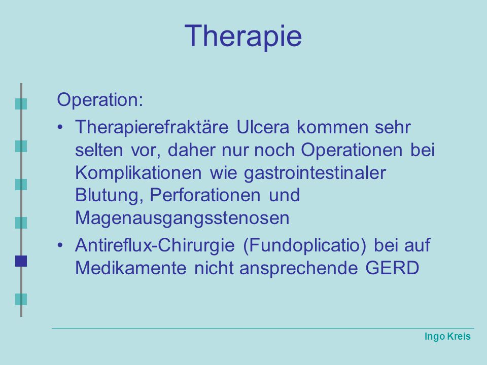 Therapie Operation: