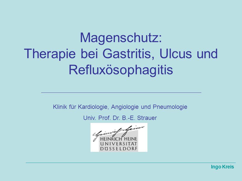 Magenschutz: Therapie bei Gastritis, Ulcus und Refluxösophagitis