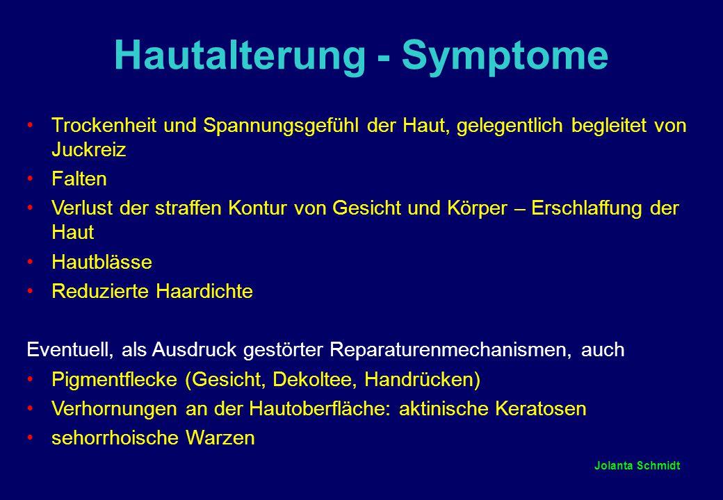 Hautalterung - Symptome