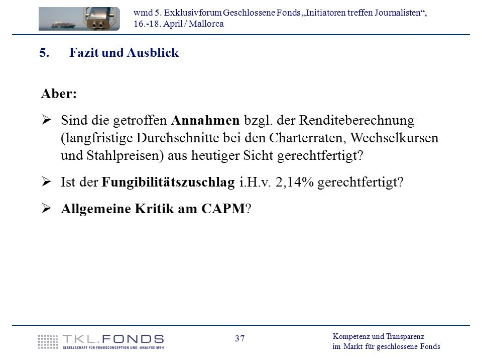 Ist der Fungibilitätszuschlag i.H.v. 2,14% gerechtfertigt