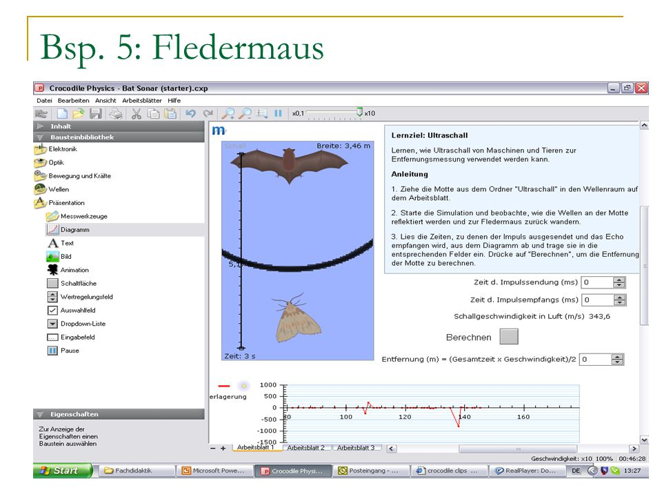Bsp. 5: Fledermaus