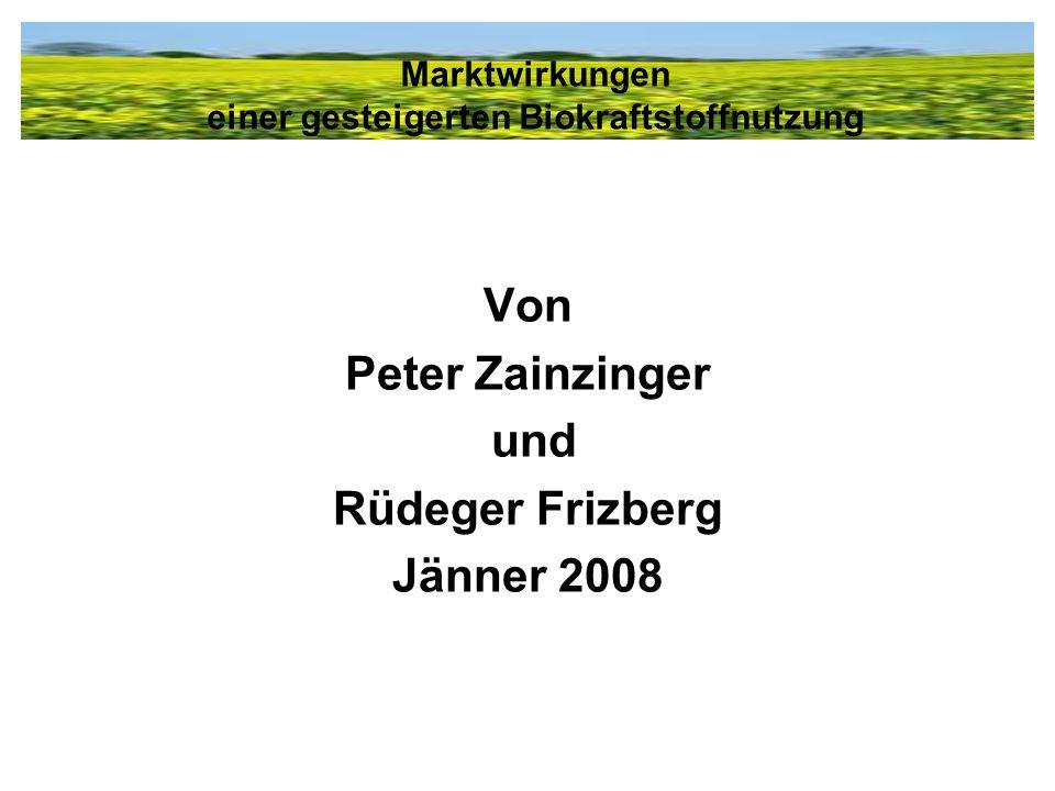 Von Peter Zainzinger und Rüdeger Frizberg Jänner 2008