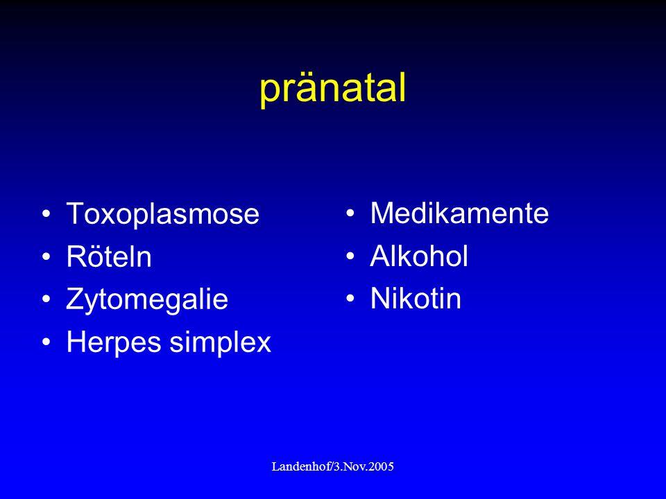 pränatal Toxoplasmose Medikamente Röteln Alkohol Zytomegalie Nikotin