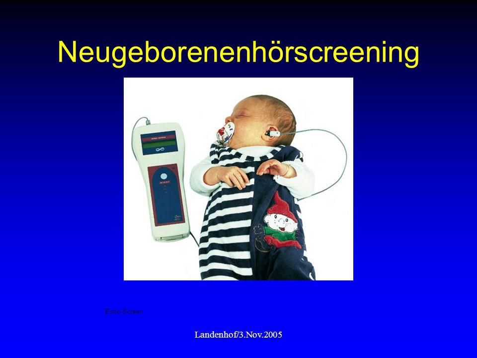 Neugeborenenhörscreening