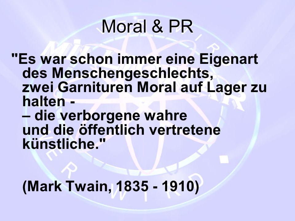 Moral & PR