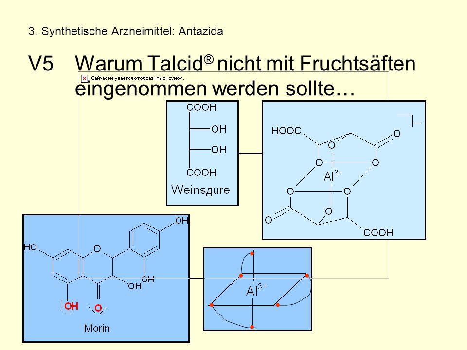 3. Synthetische Arzneimittel: Antazida V5