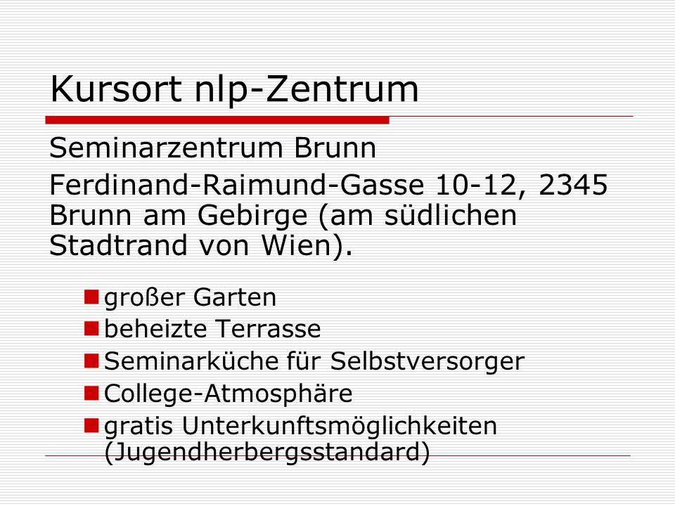 Kursort nlp-Zentrum Seminarzentrum Brunn