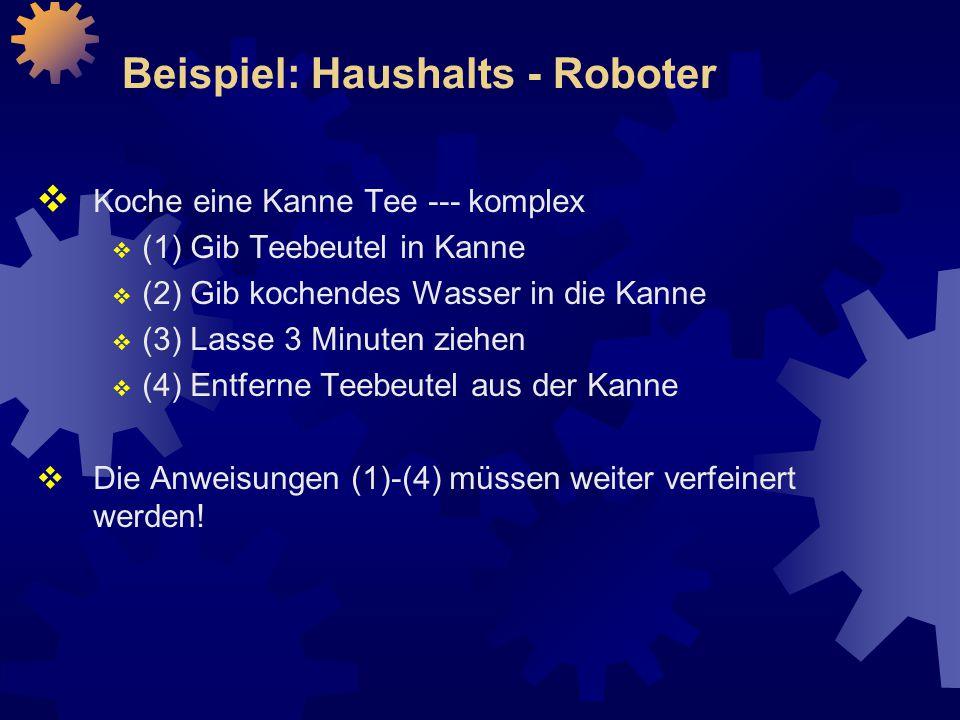 Beispiel: Haushalts - Roboter