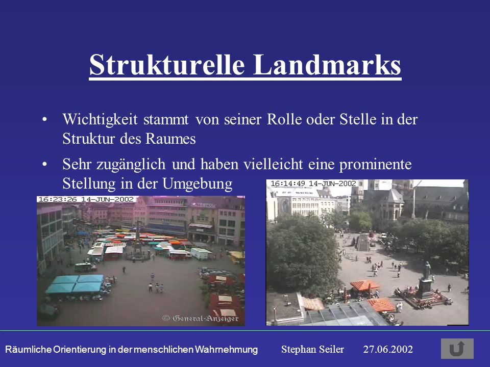 Strukturelle Landmarks