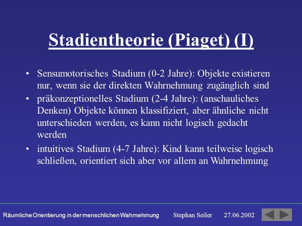 Stadientheorie (Piaget) (I)