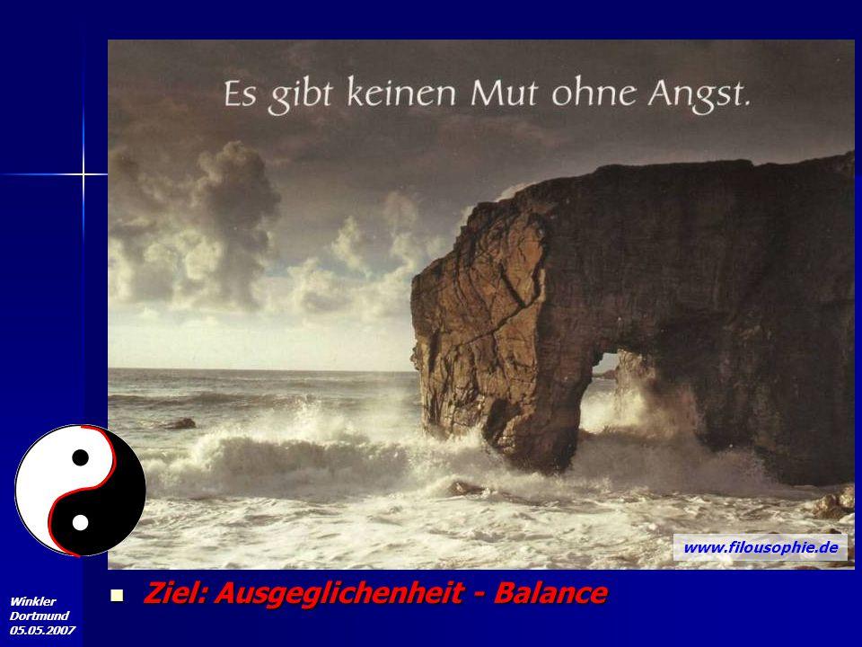 Angst und Stottern Ziel: Ausgeglichenheit - Balance
