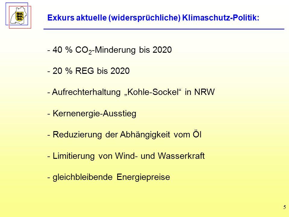 """- Aufrechterhaltung """"Kohle-Sockel in NRW Kernenergie-Ausstieg"""