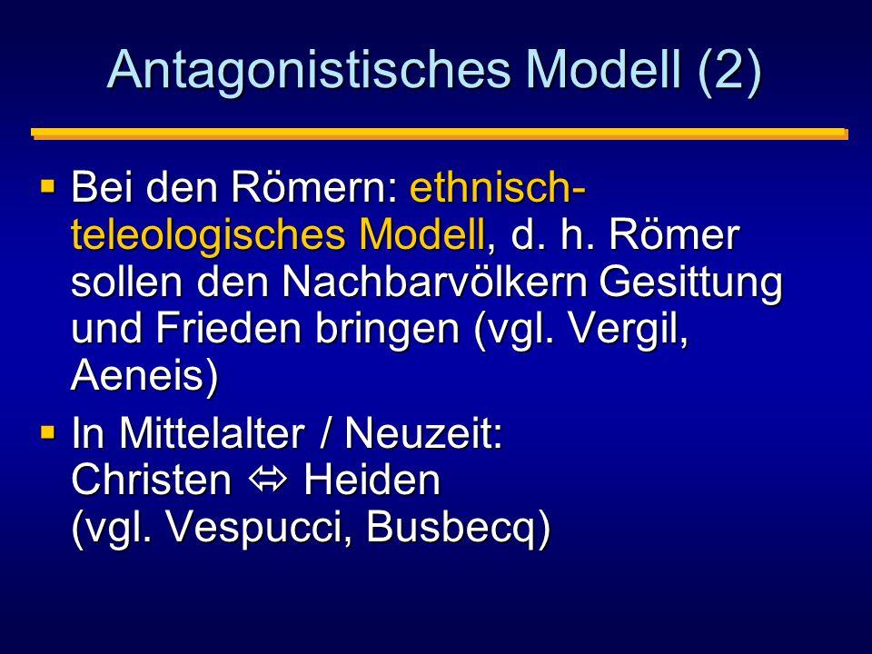 Antagonistisches Modell (2)