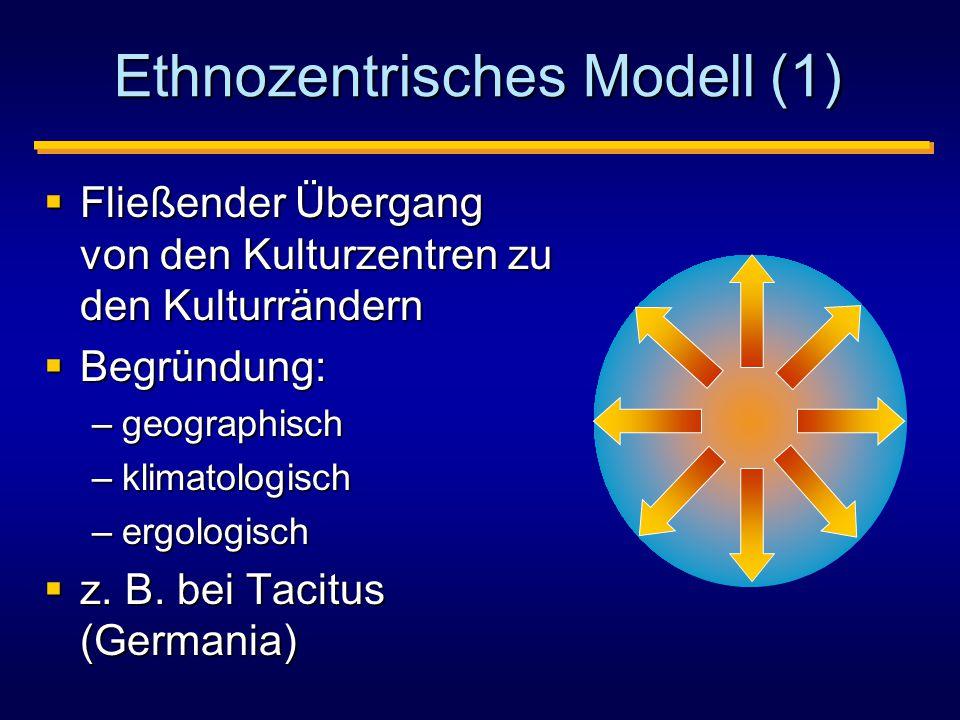 Ethnozentrisches Modell (1)