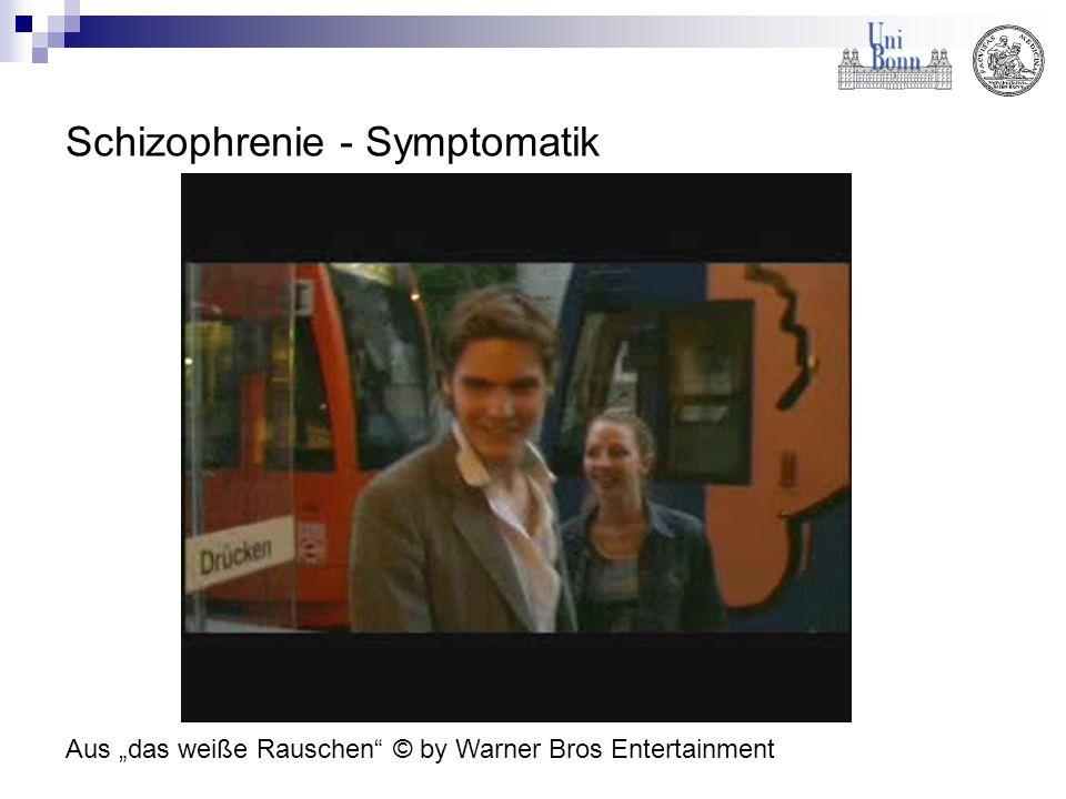 Schizophrenie - Symptomatik