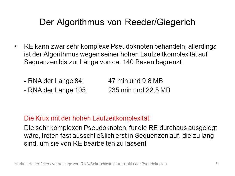 Der Algorithmus von Reeder/Giegerich